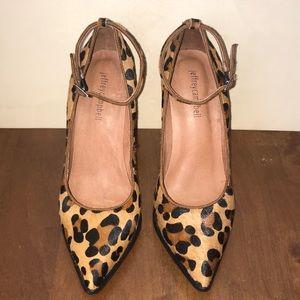 Jeffrey Campbell Leopard Fur Heels